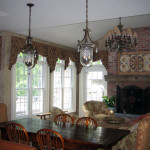 A Kitchen family room to rival any European manor house in the middle of Lebanon Township NJ